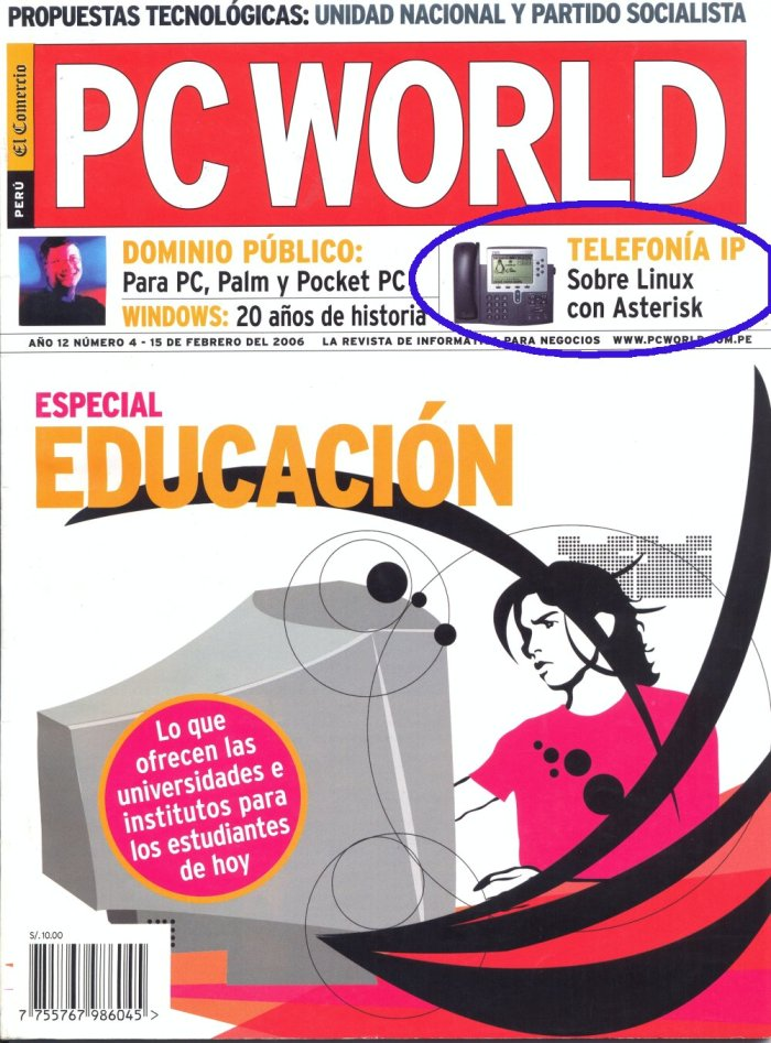 PC WORLD - portada CIPHER SAC